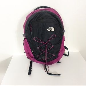 The North Face Purple & Black Backpack